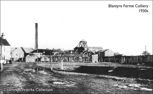 1930s Blantyreferme colliery