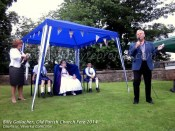 2014 Billy Gallacher at Old Parish Fete