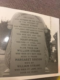 strang headstone