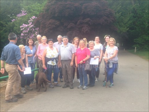 2016 Greenhall Walk