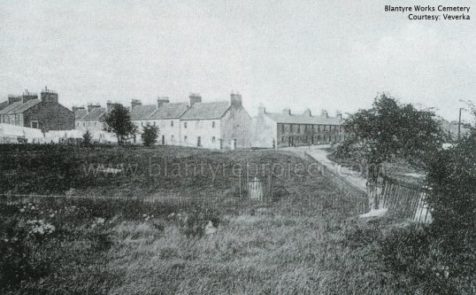 1903 Blantyre works cemetery wm