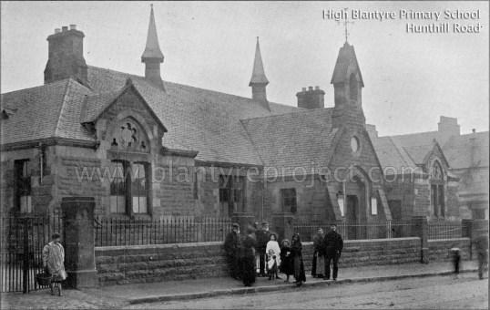 1907 High Blantyre Primary School wm