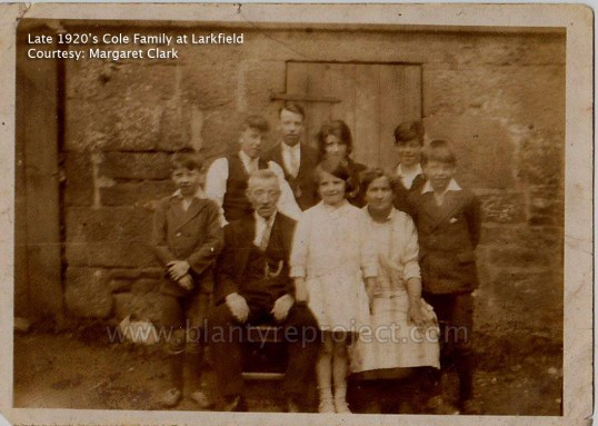 1920s Cole Family at Larkfield wm