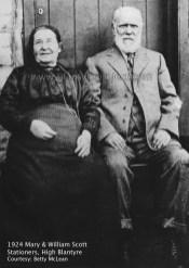 1924 Mary & William Scott