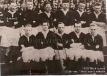 1929 Martin Lennon in Third Lanark