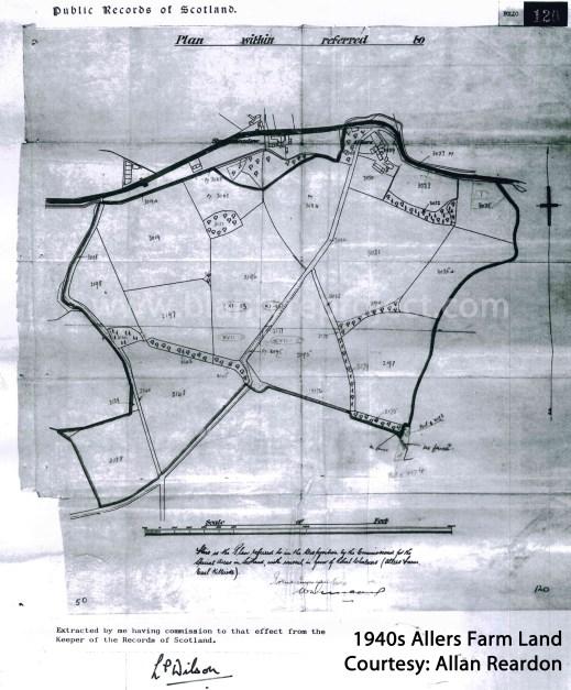 1940s Allers Farm Plan wm