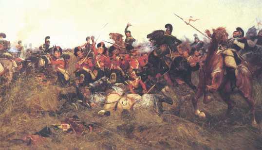 wollen battle of Quatre bras