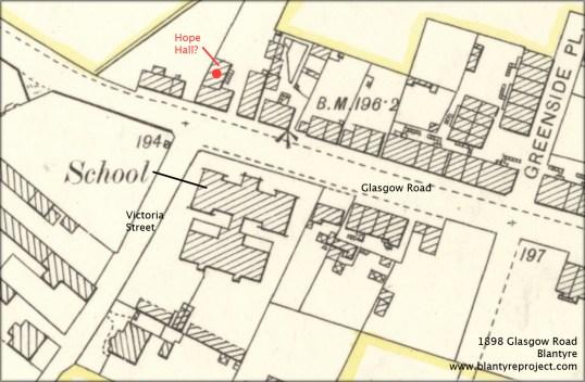 1898 Hope Hall Blantyre