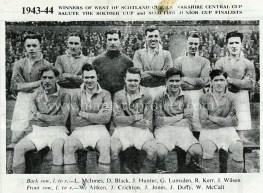 1943 Blantyre Vics