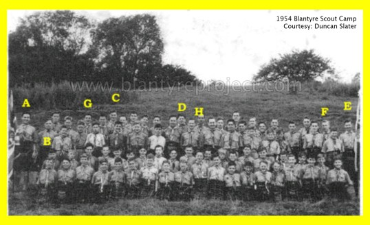 1954 Blantyre Scout camp wm