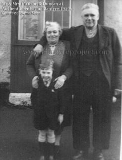 1950s Mr & Mrs J Wilson & Duncan
