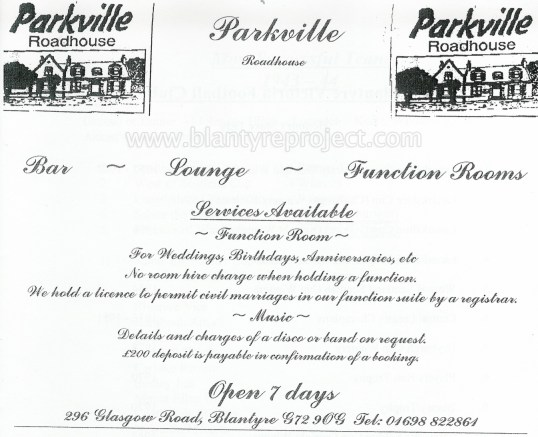 2004 Parkville Advert wm