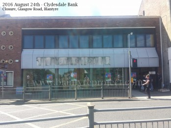 2016 Aug Closure of Clydesdale Bank