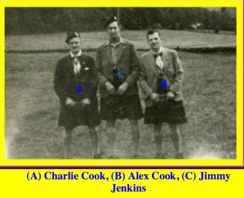 1947 Scouts at Inverary by Duncan Slater