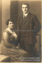 1910s Walter & Maggie Louden of Parkneuk