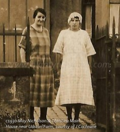 1930 May Nicholson & Christina Main