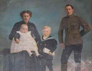 James McDade & family