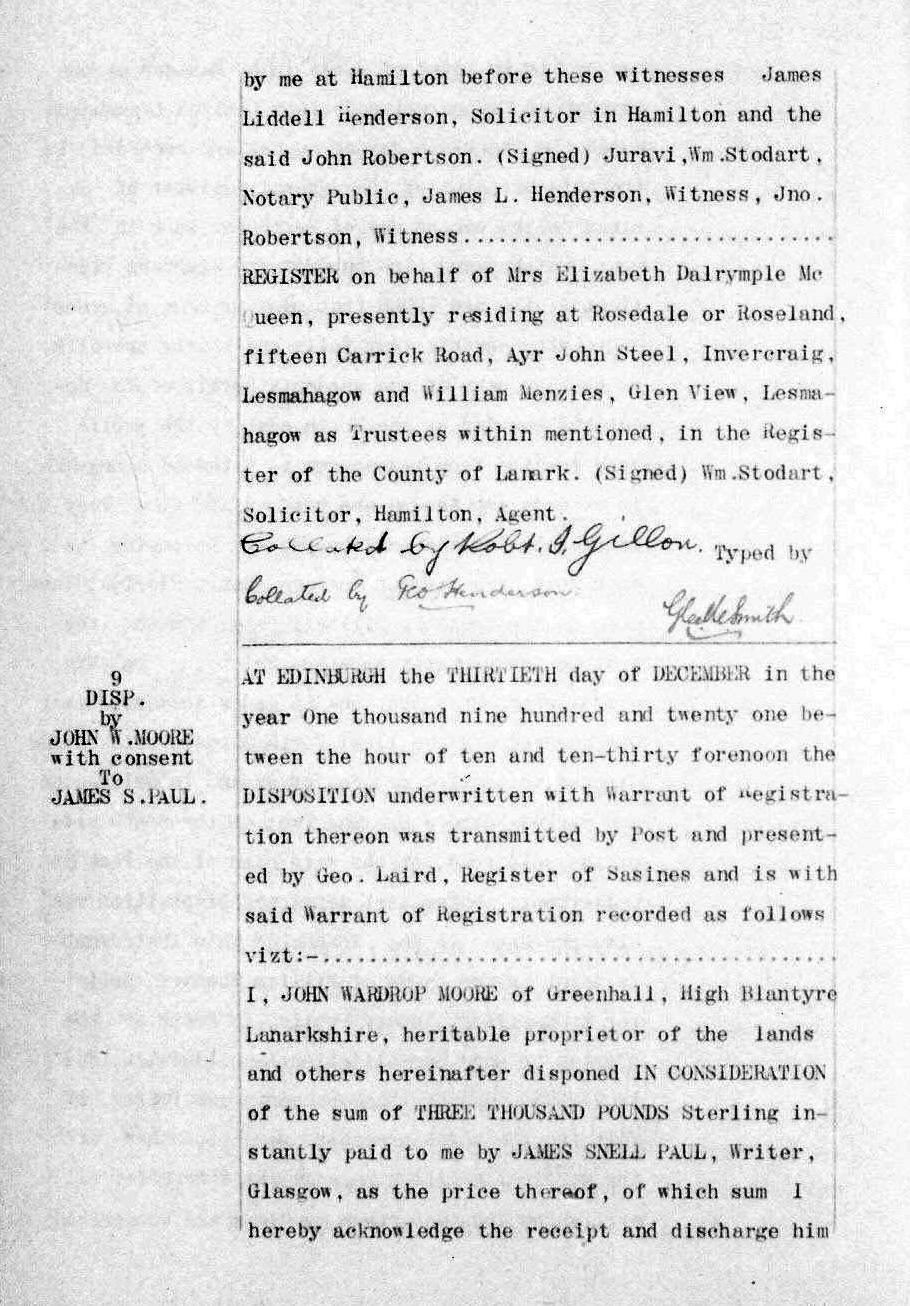 Greenhall 1921 page 1