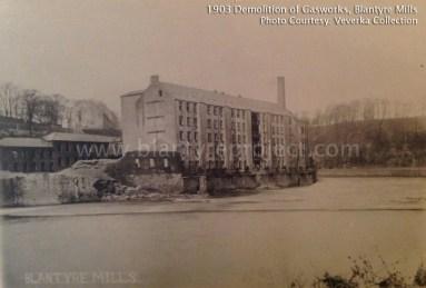 1903 Demolition of Gasworks and Powerloom Factory