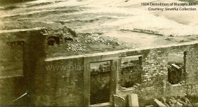 1904 Demolition of Blantyre Mills (PV)