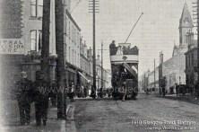 1910 Tram on Glasgow Road