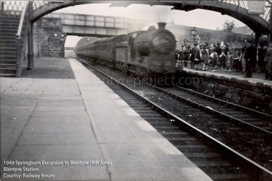1949 Blantyre Train Station