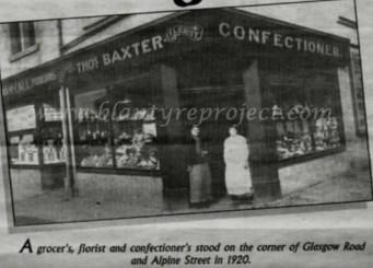 1920 Thomas Baxter Florist