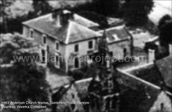1963 Anderson Church Manse