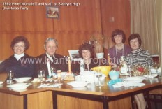 1980 Peter Moncrieff and BHS staff