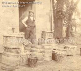 1908 Boathouse worker