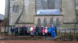 2017 16th April walk to Priory