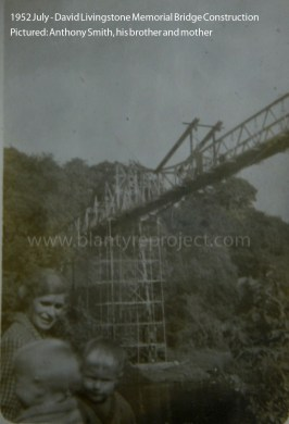 1952 Construction of Livingstone Memorial Bridge