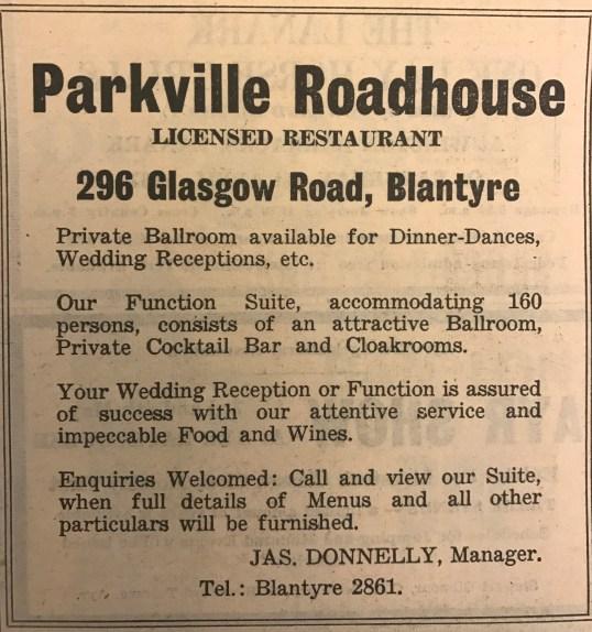 1967 Parkville Roadhouse
