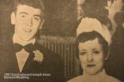 1967 Joseph Jones & Sian Evans