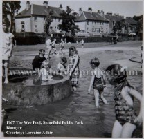 1967 Stonefield Public Park small pool