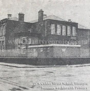 1978 Auchinraith Primary School