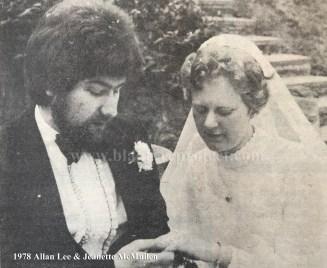 1978 Jeanette McMullen & Allan Lee
