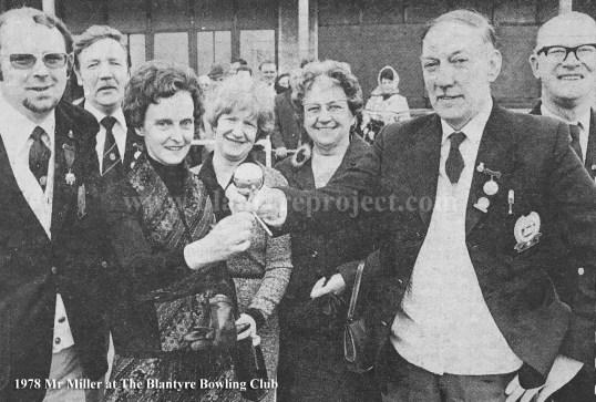 1978 Mr Miller Blantyre Bowling wm