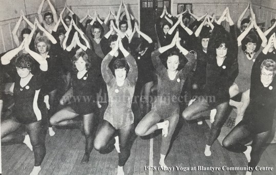 1978 Yoga at Community Centre wm