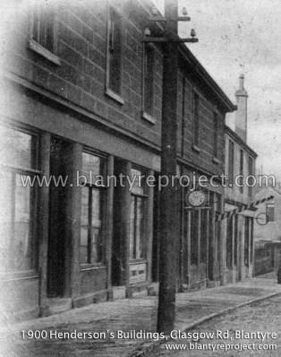 1900 Hendersons Buildings, Glasgow Rd