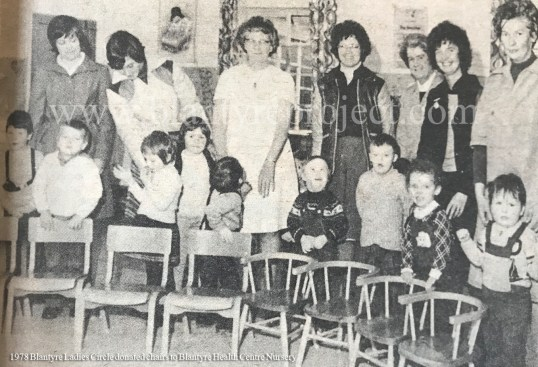 1978 Ladies Circle donates chairs wm