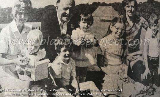 1978 Neil McLaughlin of Welfare with members wm