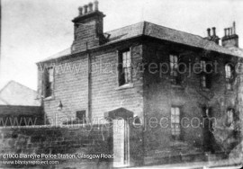 c1900 Glasgow Road Police Station