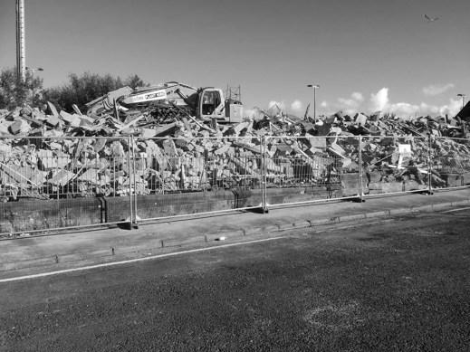 Noel Kegg demolition