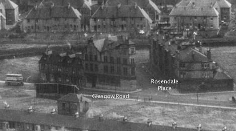 1950 Aerial Rosendale
