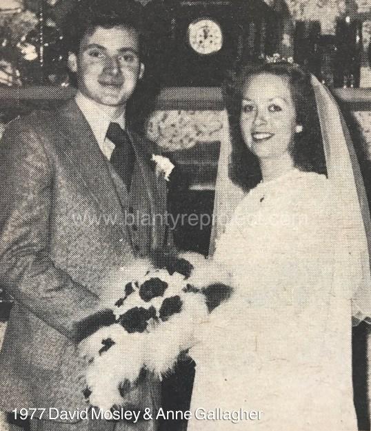 1977 David Mosely & Anne Gallagher wm