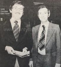 1978 Tom Blair on left of Glen Travel
