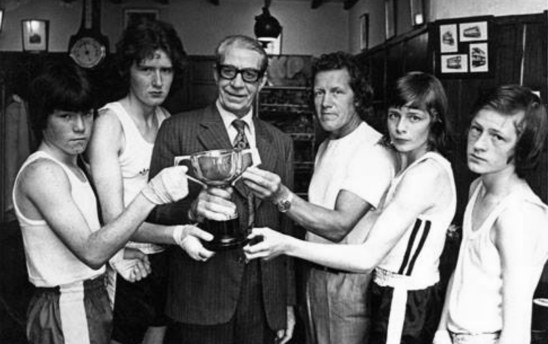 1975 Bob Brown of Hasties and boxers