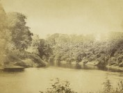 1870's River Clyde at Bothwell Castle by J McGhie