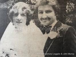 1978 Rosemary Leggate & John Murray
